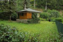 Venkovní prostory kolem chaty